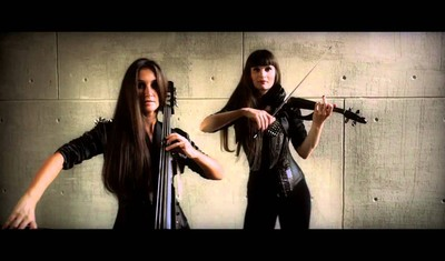 "Supermassive Black Hole (OST ""Сумерки"") шоу-дуэт Violin Group DOLLS"
