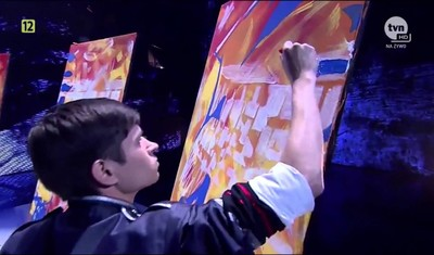 Magical Speed Painter: Amazing Got Talent Star